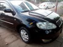 Cần bán lại xe Toyota Corolla Altis G đời 2002, màu đen, nhập khẩu nguyên chiếc chính chủ, giá chỉ 220 triệu