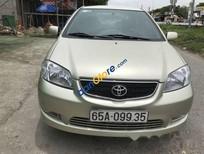 Bán Toyota Vios G sản xuất 2003, màu vàng