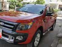 Bán Ford Ranger Wildtrak, máy 3.2, 2 cầu, đời T12/2014, màu đỏ, nhập khẩu, số tự động xe đẹp