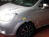 Cần bán lại xe Chevrolet Spark LT 0.8 MT sản xuất 2011, màu bạc