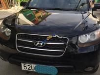 Cần bán lại xe Hyundai Santa Fe MLX đời 2009, màu đen, nhập khẩu số tự động, giá chỉ 635 triệu