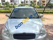 Cần bán Hyundai Verna đời 2008, màu bạc