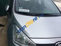 Cần bán Hyundai Grand i10 năm 2015, màu bạc