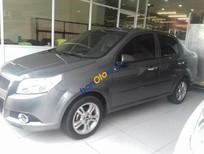Cần bán xe Chevrolet Aveo LTZ AT sản xuất năm 2015, màu nâu