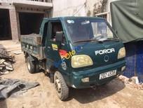 Bán xe tải Ben 1 tấn 2009, màu xanh, xe đẹp, cầu to số phụ đăng kiểm còn