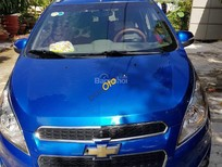 Cần bán lại xe Chevrolet Spark năm 2014, màu xanh lam