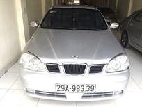 Cần bán xe Daewoo Lacetti Ex 2005, màu bạc, giá tốt