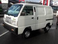 Bán xe tải cóc Suzuki, xe tải Blind Van sản xuất 2017 động cơ EURO 4 giá rẻ