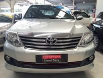 Bán xe Toyota Fortuner 2.5G đời 2012, màu bạc