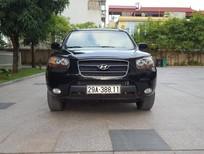 Cần bán Hyundai Santa Fe MT 2008, màu đen, xe nhập, số sàn