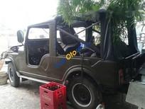 Cần bán gấp Jeep CJ sản xuất 1980, xe thùng dài đồng sơn mới