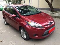 Cần bán Ford Fiesta tự động 2012 màu đỏ zin nguyên, đẹp