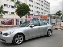 Cần bán xe BMW 5 Series 2008, màu bạc, gầm bệ máy móc nguyên bản