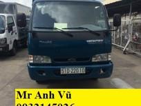 Bán xe tải Kia Thaco Trường HảI K165 tải 2 tấn 4. Lưu thồng thành phố. Xe tải K165 tải 2 tấn 4