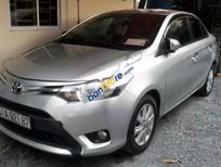 Cần bán gấp Toyota Vios E 1.5MT đời 2014, màu bạc giá cạnh tranh