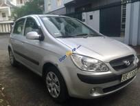 Cần bán lại xe Hyundai Getz MT 2009, màu bạc, nhập khẩu nguyên chiếc