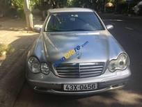 Bán gấp Mercedes C180 đời 2003, màu bạc