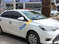 Bán xe Toyota Vios E 1.5MT đời 2016, màu trắng số sàn, 502tr