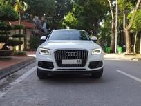 Cần bán xe Audi Q5 2.0 sản xuất 2014, màu trắng, xe nhập, chính chủ