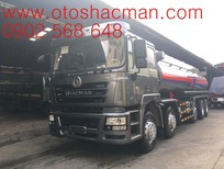 Xe tải thùng Shacman 5 chân thùng inox dài 9m5 tải trọng 22,2 tấn