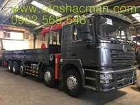 Cần bán xe tải thùng Shacman 5 chân thùng inox