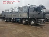 Mua xe tải thùng Shacman 5 2017  model F3000 chân thùng dài 9m5
