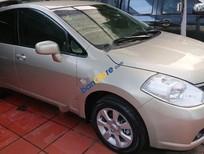 Chính chủ bán Nissan Tiida AT đời 2007, màu vàng, nhập khẩu