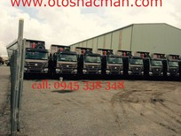 Xe Ben Howo 4 chân 2017 thùng đúc tải trọng 16,8 tấn nhập nguyên chiếc