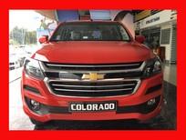 Chevrolet Colorado năm 2018 màu đỏ, nhập khẩu chính hãng