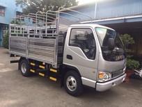 Bán xe tải Jac 2T4, 2400kg. Công bố giá bán xe tải Jac 2t4 thùng bạt, thùng kín, thùng lửng