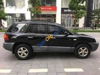 Cần bán Hyundai Santa Fe AT đời 2008, màu đen chính chủ