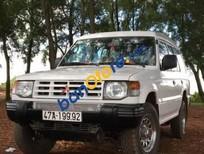 Xe Mitsubishi Pajero MT đời 1998, màu trắng giá cạnh tranh