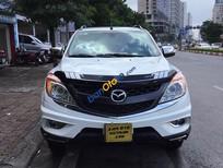 Bán Mazda BT 50 2.2 AT đời 2015, màu trắng, nhập khẩu