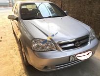 Bán xe Daewoo Lacetti EX đời 2010, màu bạc