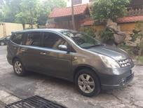 Cần bán Nissan Grand livina 1.8 MT 2012, màu xám xe gia đình