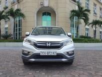 Cần bán xe Honda CR V 2.0AT đời 2016, màu bạc, ít sử dụng