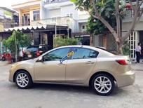 Cần bán chiếc Mazda 3s 2014 số tự động màu vàng cát, xe nhà trùm mềm