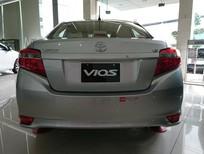 Bán Toyota Vios 1.5E MT đời 2017, màu bạc