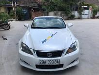 Cần bán Lexus IS 250C sản xuất 2009, màu trắng, xe nhập