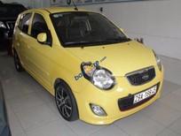 Cần bán xe Kia Morning SX đời 2011, màu vàng số tự động, giá chỉ 265 triệu
