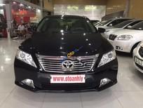 Cần bán Toyota Camry 2.0E đời 2012, màu đen chính chủ, giá chỉ 735 triệu