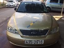 Cần bán xe Ford Mondeo 2.5 AT đời 2004, màu vàng số tự động, 180 triệu