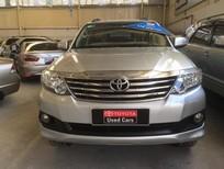 Bán ô tô Toyota Fortuner 2.7V 2014, màu bạc, hỗ trợ vay 70%