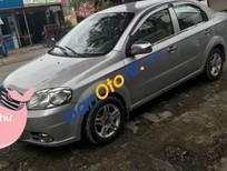 Cần bán xe Daewoo Gentra MT sản xuất 2009, màu bạc