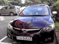 Cần bán gấp Honda Civic 1.8 MT năm 2008, màu đen đã đi 87.000km