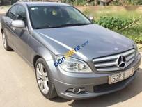 Bán Mercedes C200 năm 2009, màu xám, nhập khẩu xe gia đình, 585tr