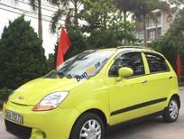 Cần bán lại xe Chevrolet Spark đời 2009, màu vàng, 128 triệu