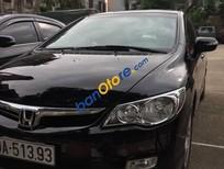 Cần bán Honda Civic AT năm sản xuất 2007, màu đen, giá 370tr