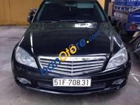 Bán Mercedes C200 đời 2009, màu đen, giá 670tr