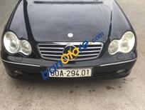 Bán Mercedes C240 đời 2003, màu đen